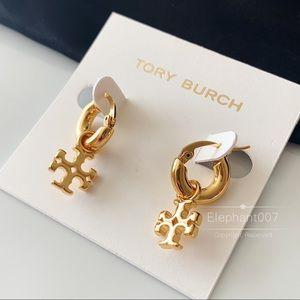 Tory Burch earrings charm gold earrings